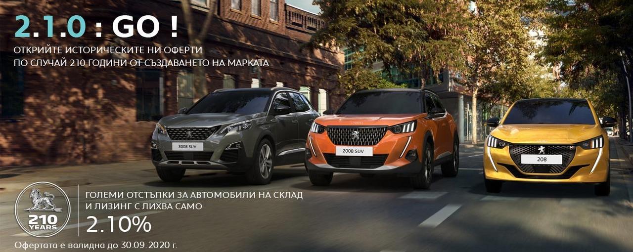 Peugeot Promo 210 Years