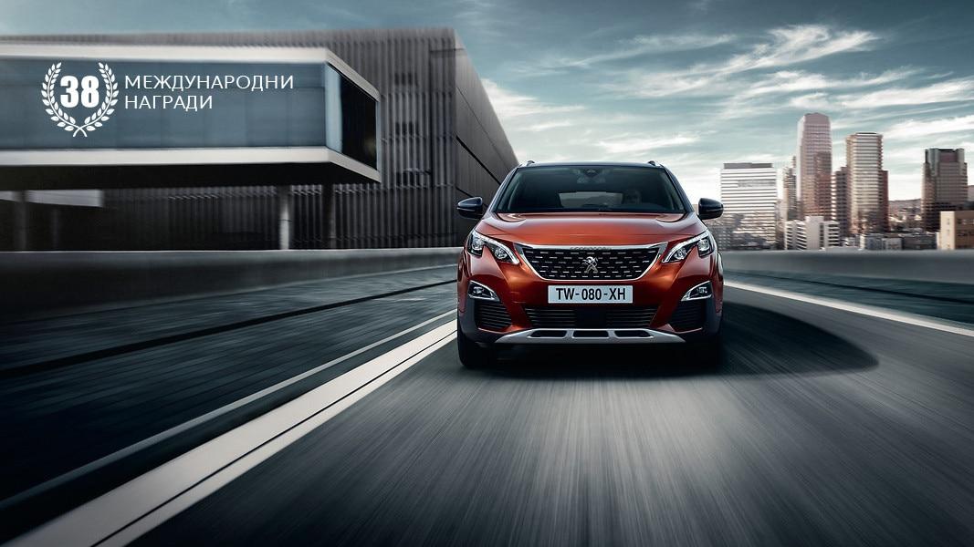 Peugeot 3008 SUV 38 awards