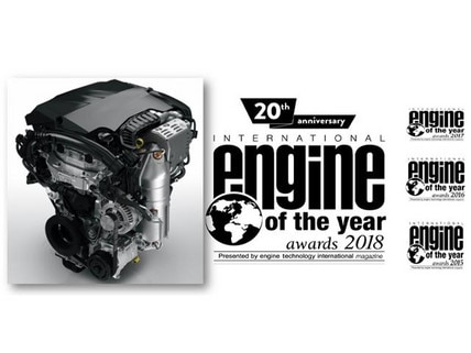 Peugeot Engine of the year