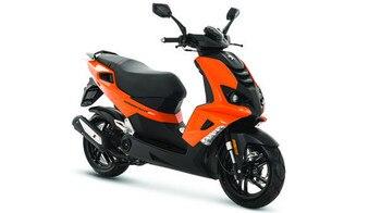 Peugeot Scooters SPEEDFIGHT orange