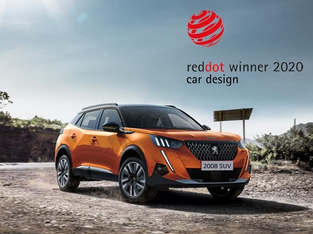 Peugeot 2008 SUV Red Dot award