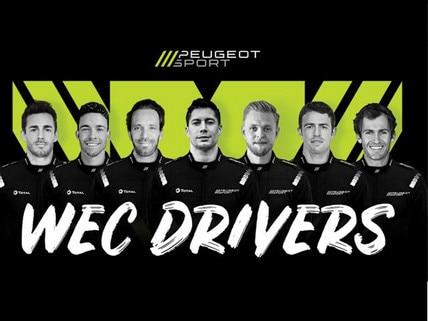 Peugeot sport drivers