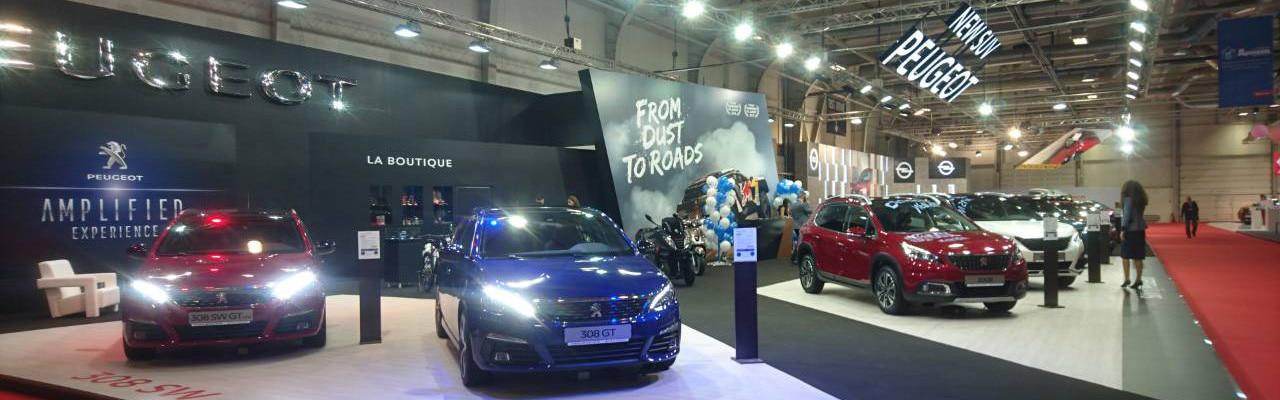 Peugeot на Автомобилен салон София