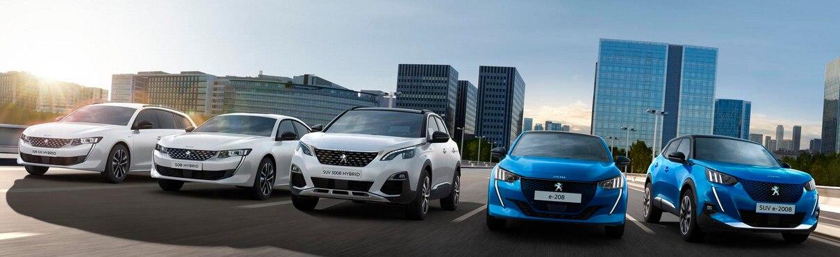 Peugeot Hybrid Range