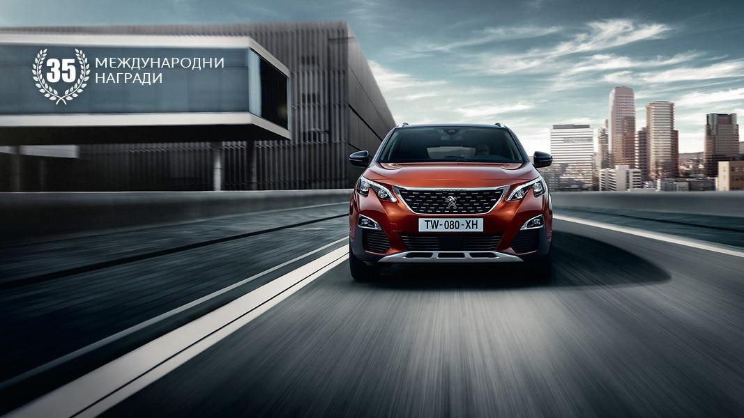 35 награди за Peugeot 3008 SUV