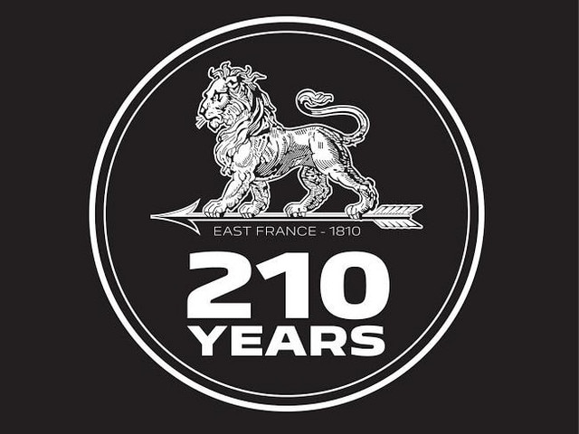 Logo 210 years