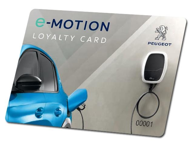 Peugeot LEV Loyal card